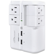Compucessory 4-Outlets Surge Suppressor/Protector