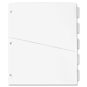 Sparco Ring Binder Pocket Tab Divider