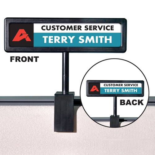 Advantus Corp Advantus People Pointer Cubicle Sign