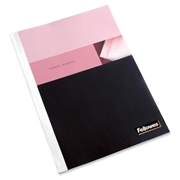 "Fellowes, Inc Fellowes Thermal Presentation Covers - 1/16"", 15 Sheets, White"
