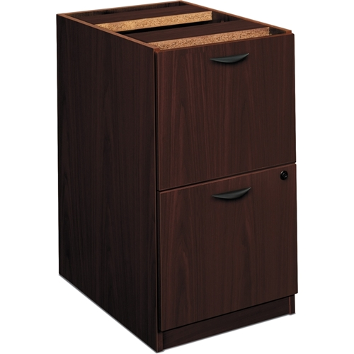 The HON Company Basyx by HON BL Series Modular Pedestal with File/File Drawer