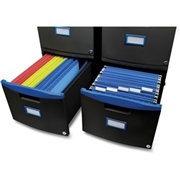 Storex 2-drawer Mobile File Cabinet