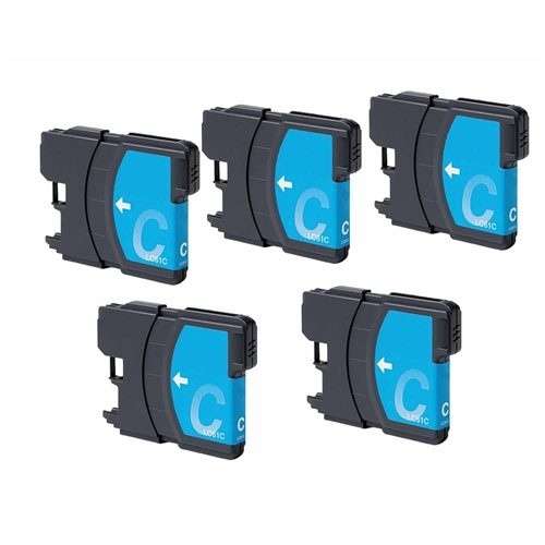 Brother LC61 CN 5pk compatible Ink Cartridge