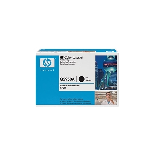 HP OEM 643A BK (Q5950A) Toner Cartridge