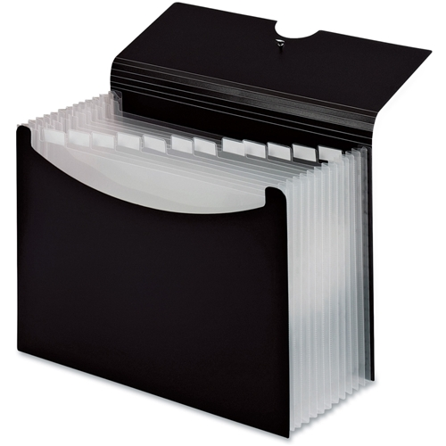 TOPS Products Cardinal Second Nature Expanding Multi-Pocket Letter-Size Files