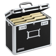IdeaStream Locking Personal Letter Size File Tote