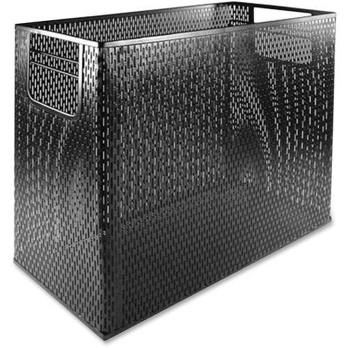 Artistic Products, LLC Artistic Urban Collection Punched Metal Desktop File, Black