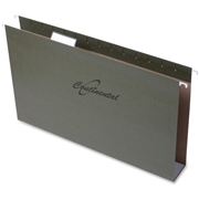 Continental Extra-capacity Standard Green Hanging Folders