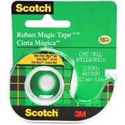 3M Scotch Magic Transparent Tape with handheld Dispenser