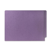 Smead Manufacturing Company Smead 25410 Lavender End Tab Colored File Folders with Reinforced Tab