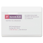 Smead 68123 Clear Self-Adhesive Poly Pockets