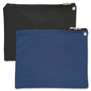 Merangue International Limited Merangue Carrying Case (Pouch) for Jewelry, Money, Accessories, File Folder - Black, Blue