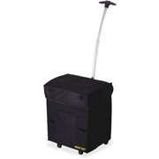 dbest products dbest Smart Travel/Luggage Case Grocery, Laundry, File, Gear, Electronic Equipment - Black