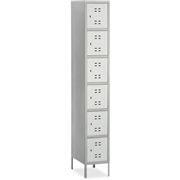 Safco Products Safco Six-Tier Two-tone Box Locker with Legs