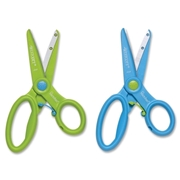 "Acme United Corporation Westcott NEW! 5"" Spring-assist Preschool Safety Scissors with Microban"