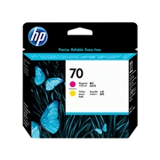 HP #70 Magenta and Yellow Printhead (C9406A) OEM Ink Cartridge
