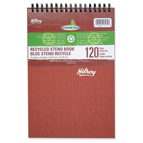 Hilroy 53010 Enviro Plus Recycled Steno Book