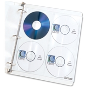 C-Line Products, Inc C-Line Deluxe CD Ring Binder Storage