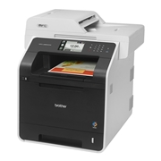 Brother MFC-L8850CDW Wireless and Airprint Enabled All-In-One Laser Printer