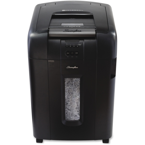Swingline Stack-and-Shred 500X Shredder with Lock