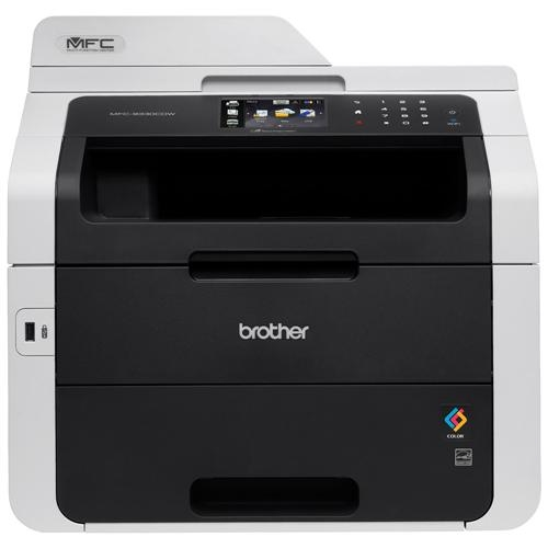 Brother MFC-9330CDW Wireless and Airprint Enabled All-In-One Laser Printer
