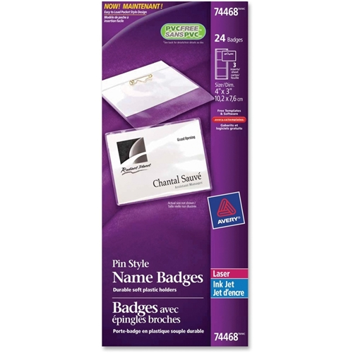 Avery Name Badge Label Kit