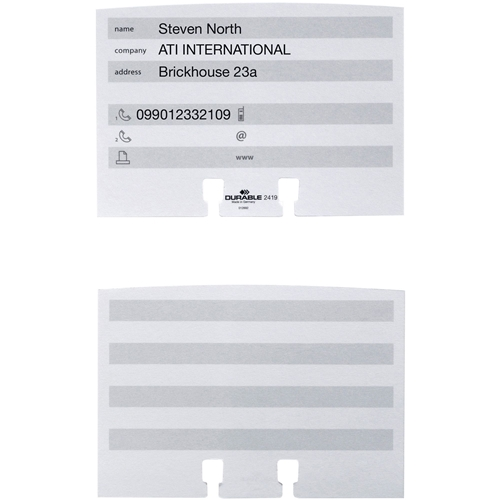 Durable Office Products Corp. Durable Address Card File