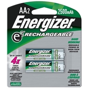 Energizer Holdings, Inc Energizer NH15BP-2 AA Nickel-metal Hydride Rechargeable Battery