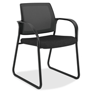 HON Mesh Back Sled Base Guest Chair