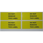 Do-Not-Remove Labels