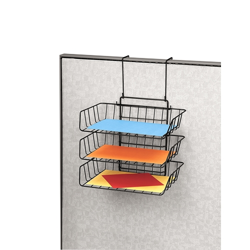 Fellowes, Inc Fellowes Wire Partition Additions Triple Tray