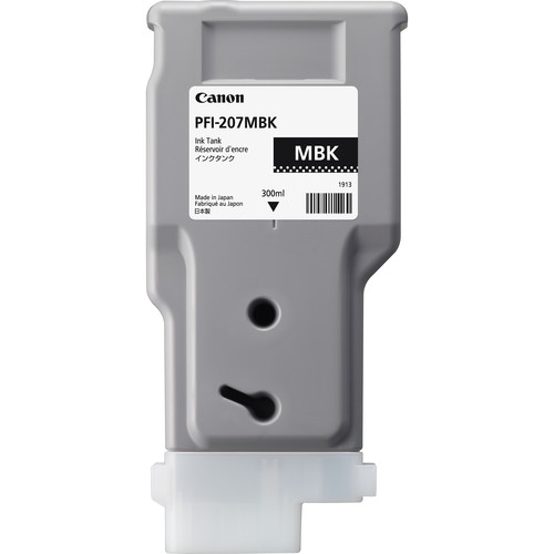 Canon PFI-207 Matte Black OEM Ink Cartridge