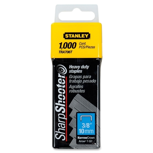 "Stanley Black & Decker, Inc Stanley SharpShooter Heavy Duty Tacker Staples (3/8"")"