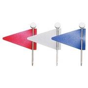 Advantus Corp Gem Office Products Triangular Map Flag