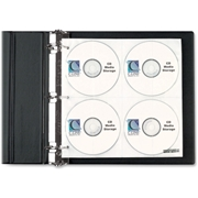C-Line Products, Inc C-Line CD/DVD Ring Binder Kit