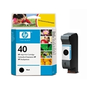 HP #40 B (51640A B) OEM Ink Cartridge