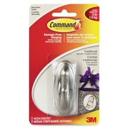 3M Command Traditional Medium Hook, 17051BN-C