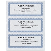 First Base, Inc First Base Regent Gift Certificate