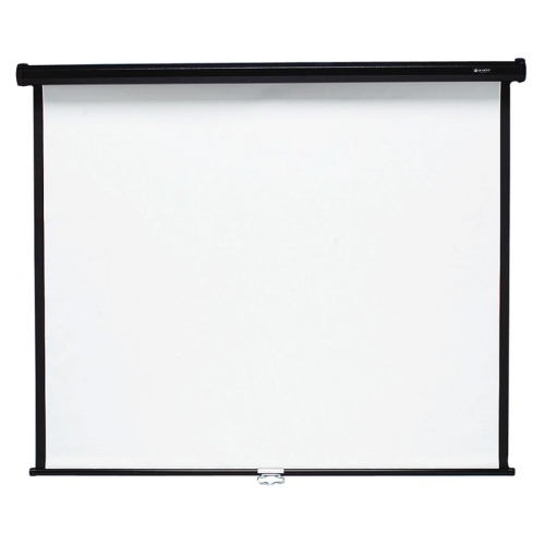 "Quartet Manual Projection Screen - 135.8"" - 1:1 - Wall Mount, Ceiling Mount"