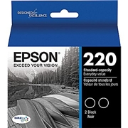 Epson T220120 2pk OEM Ink Cartridge