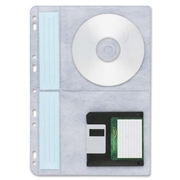 Compucessory CD/DVD Ring Binder Storage Page
