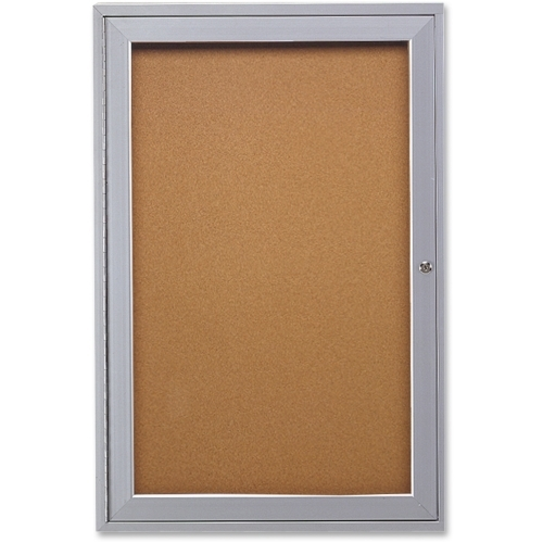 Ghent Manufacturing, Inc Ghent 1-Door Indoor Enclosed Bulletin Board