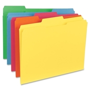 Sparco Products Sparco Top Tab File Folder
