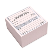Dominion Blueline, Inc Blueline Bilingual Message Cube Pad