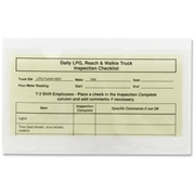 Smead Manufacturing Company Smead 68185 Clear Self-Adhesive Poly Pockets