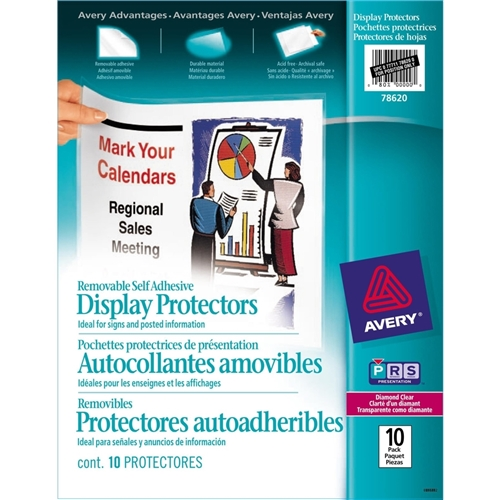 Avery Repositionable Display Protector