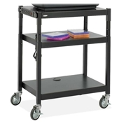 Safco Products Safco Adjustable Height A/V Cart