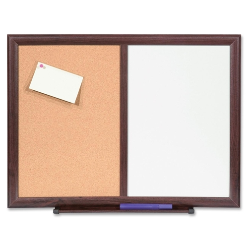 "Lorell 24""x18"" Dry-Erase/Bulletin Combo Boards"