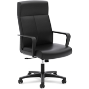 The HON Company Basyx by HON VL604 Executive Leather High-back Chair