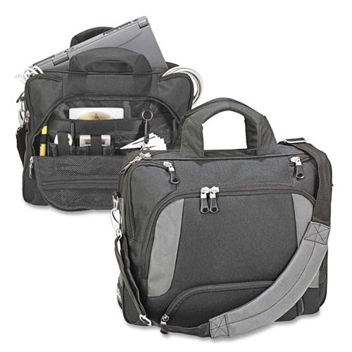 The Ro-el Group Ro-el Carrying Case (Briefcase) for Notebook - Black